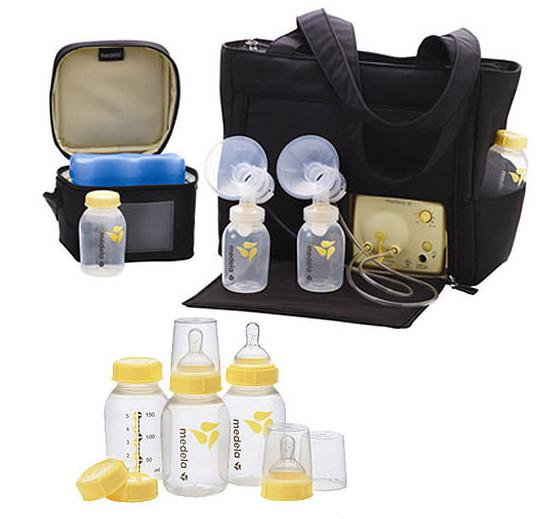 ปั๊มนมไฟฟ้าMedela เต้าคู่ Medela Pump In Style Advanced Double Breastpump On The Go Tote